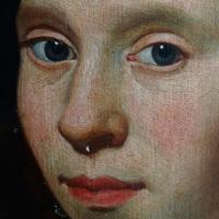 Vrouw_Olie_op_paneel_17e_eeuw